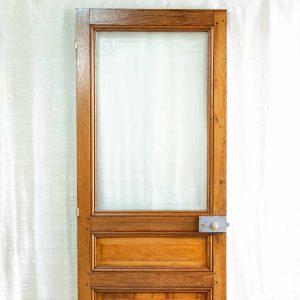 porte ancienne vitrée