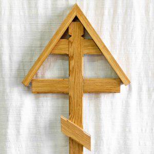 croix orthodoxe bois